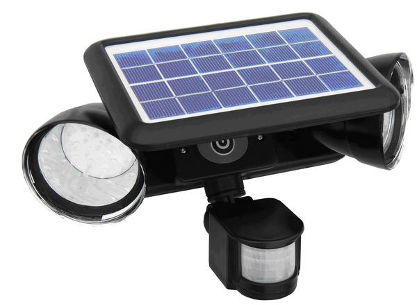Solar Security Light MSL05-02D-DBLSPOT-PIR