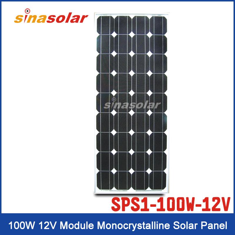 Solar Panel SPS1-100W-12V-M