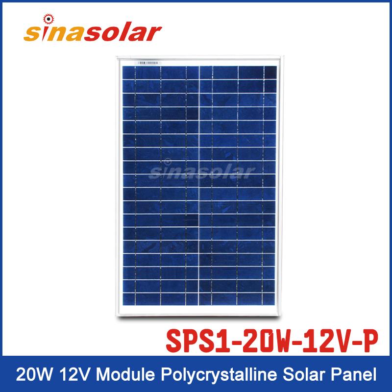 Solar Panel SPS1-20W-12V-P