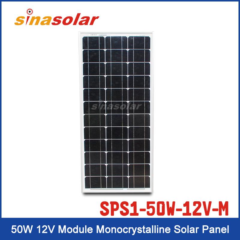Solar Panel SPS1-50W-12V