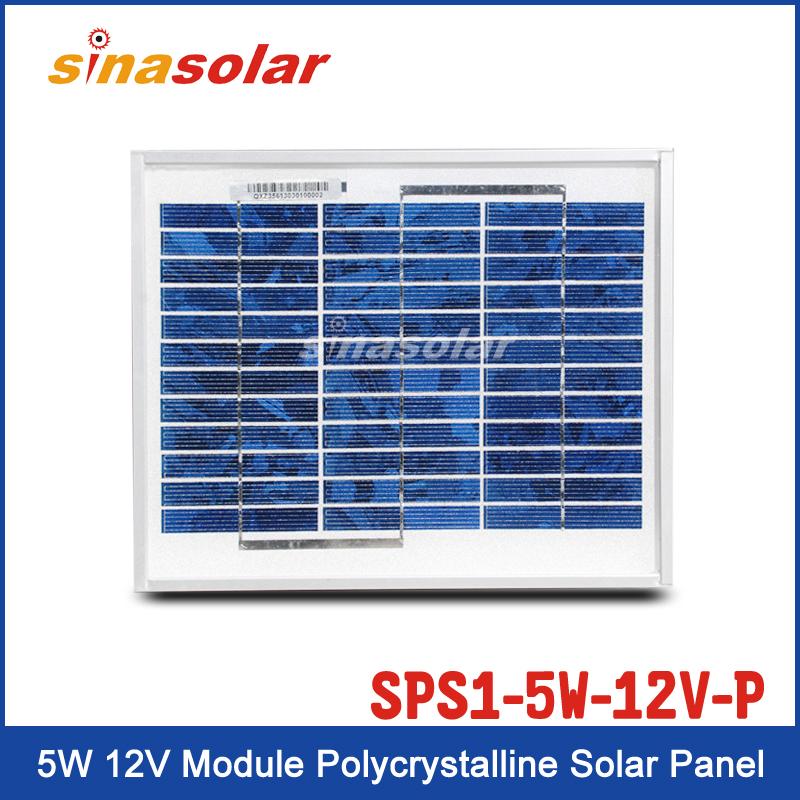 Solar Panel SPS1-5W-12V