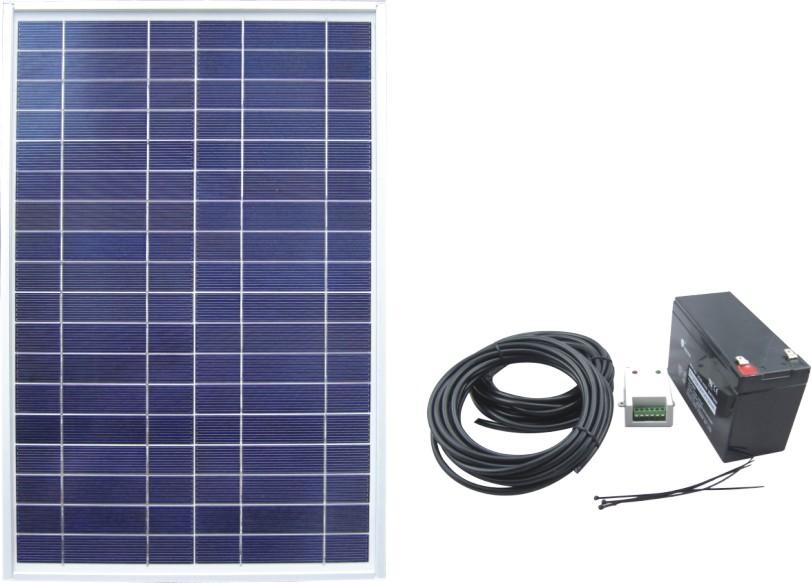 Solar Power System SPS2-20W-12V