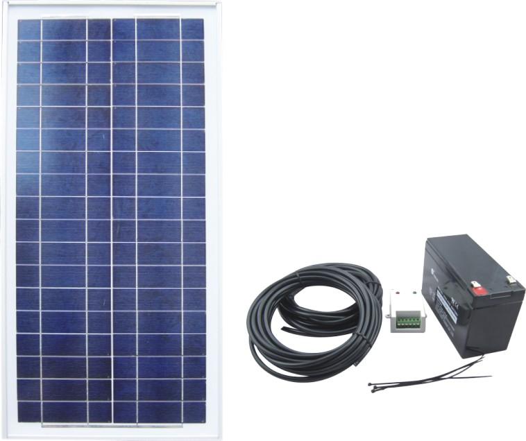 Solar Power System SPS2-30W-12V