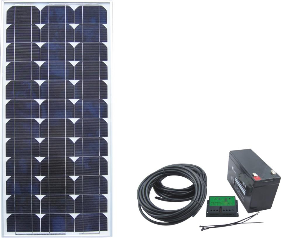 Solar Power System SPS2-50W-12V