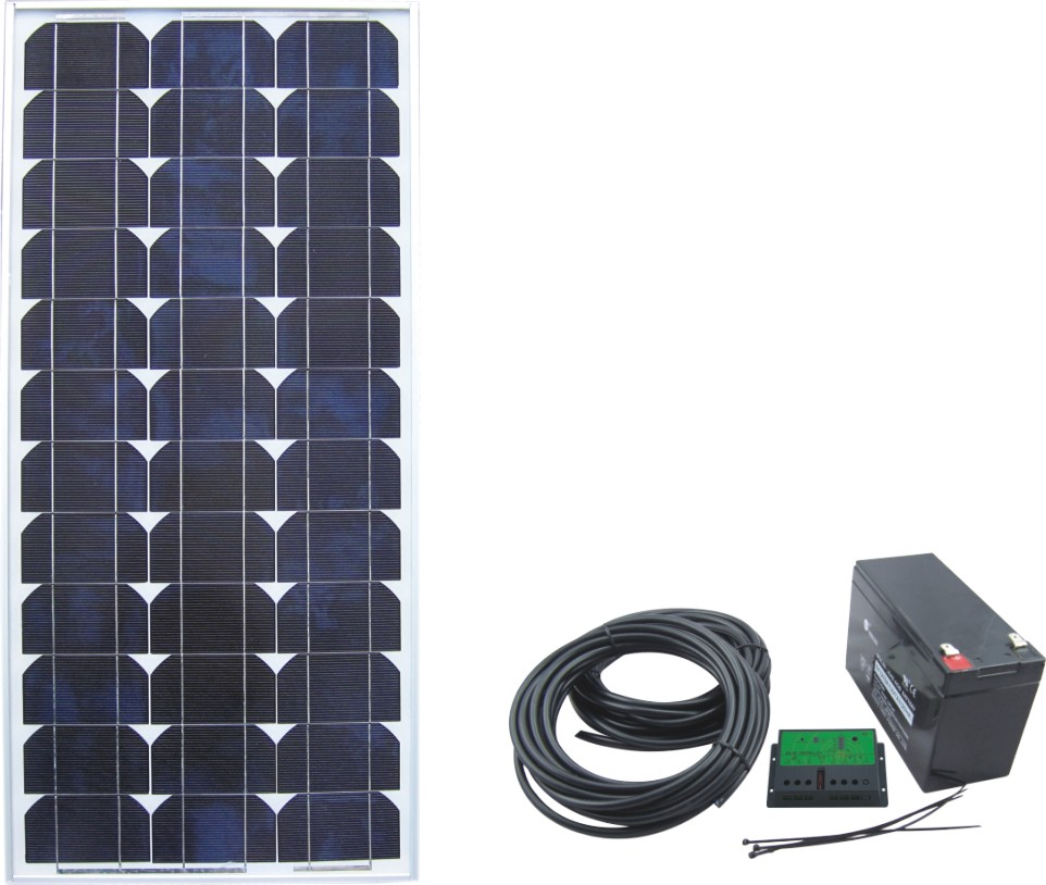 Solar Power System SPS2-50W-12V